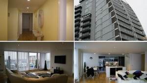 Salford penthouse - photos of completed job