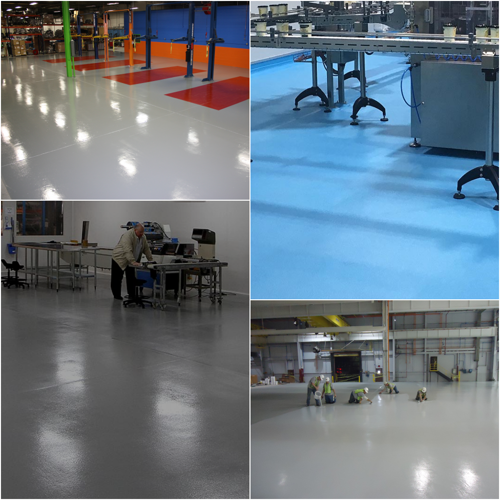 Epoxy Coating flooring contractor, UK