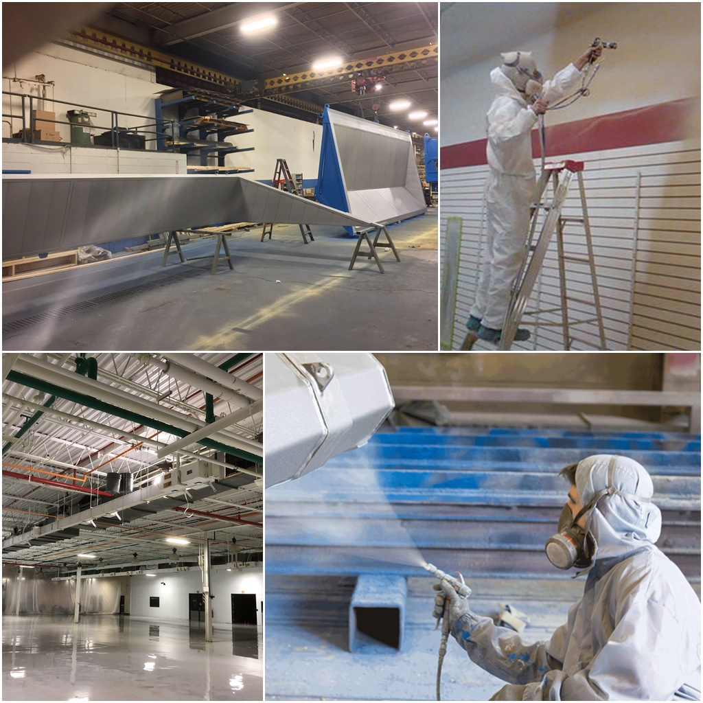 Industrial & Commercial Spray Painting UK