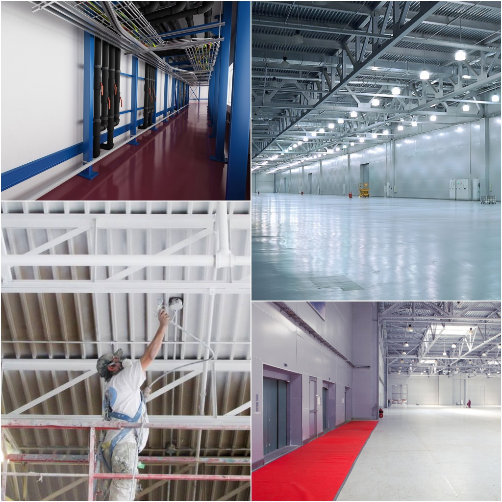 Warehouse Painting Contractors - UK