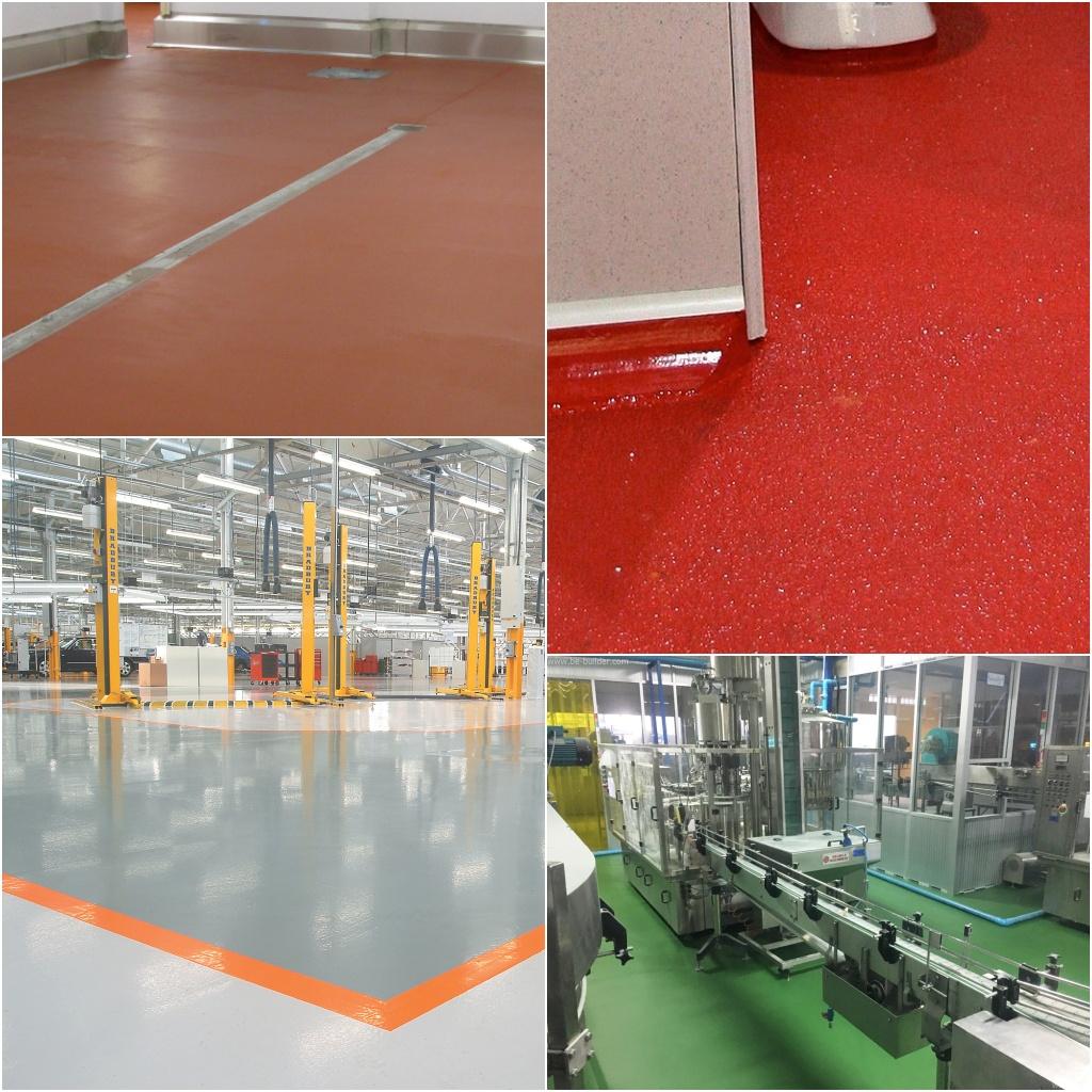 Industrial-Flooring - Polyurethane Coatings & Screeds