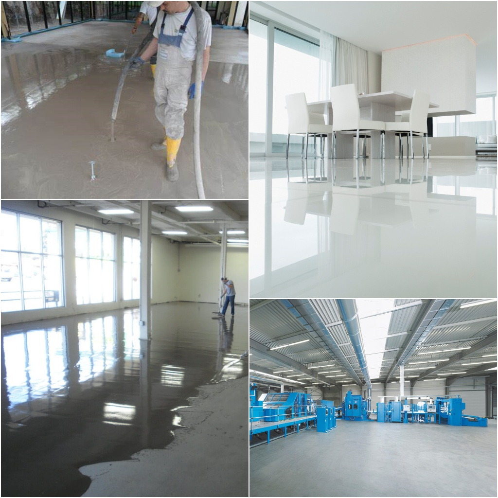 Self-Levelling Floors - UK